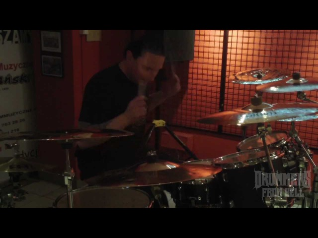 DARAY-Masachist- Drilling the Nerves. Yamaha Drum Clinic (Poland)