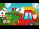 ANIMALS ON THE FARM | Nursery Rhymes TV. Wheels on the Bus. Toddler Preschool Baby Songs.
