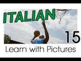 Learn Italian - Italian Sports Vocabulary