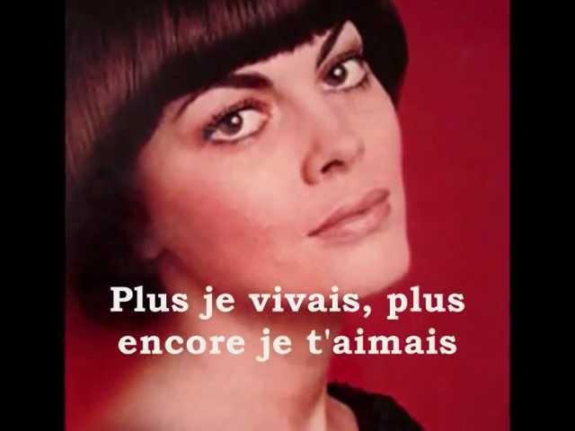 Mireille Mathieu Pardonne-moi ce caprice d'enfant - Vidéo des Neuneux