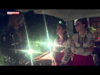 Сергей Зверев в ресторане исполнил песню на украинском