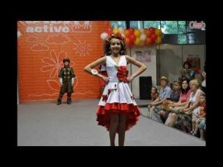 Цветы детства 2013. Фестиваль детской моды в Киеве