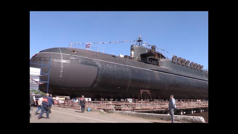 Крейсер Екатеринбург вывели из цеха смотреть онлайн без регистрации