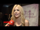 Katherine McNamara Interview Taylor Spreitlers 21 In The City Red Carpet