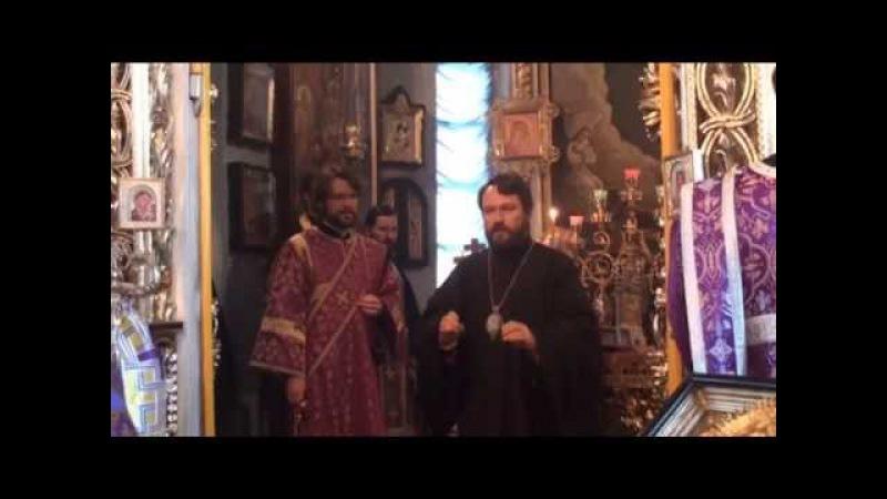 Служение митрополита Илариона в КазПДС