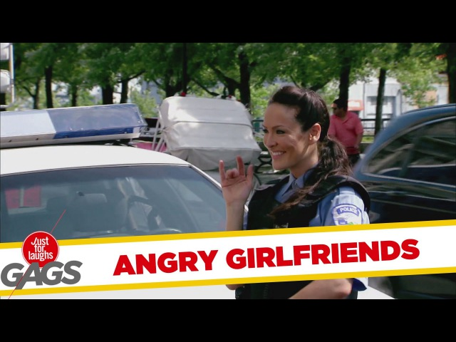Instant Accomplice - Angry Girlfriends Slash Sexy Cop's Tires