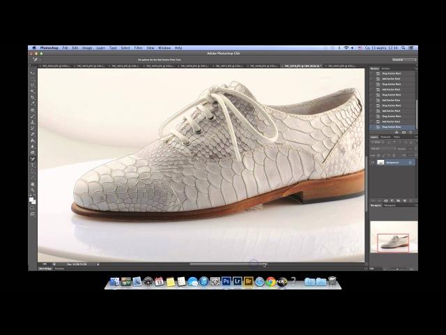 02 Как сделать белый фон в Фотошопе. HD.
