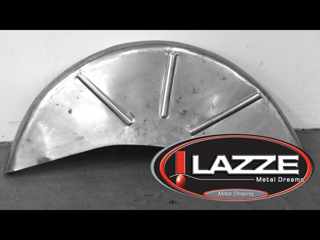 Lazze Metal Shaping: Wheel Tubs Quick with English Wheel and Shrinker