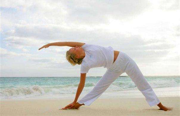 Асаны йоги для того, чтобы убрать бока: