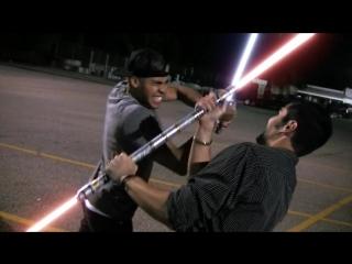 битва на световых мечах
