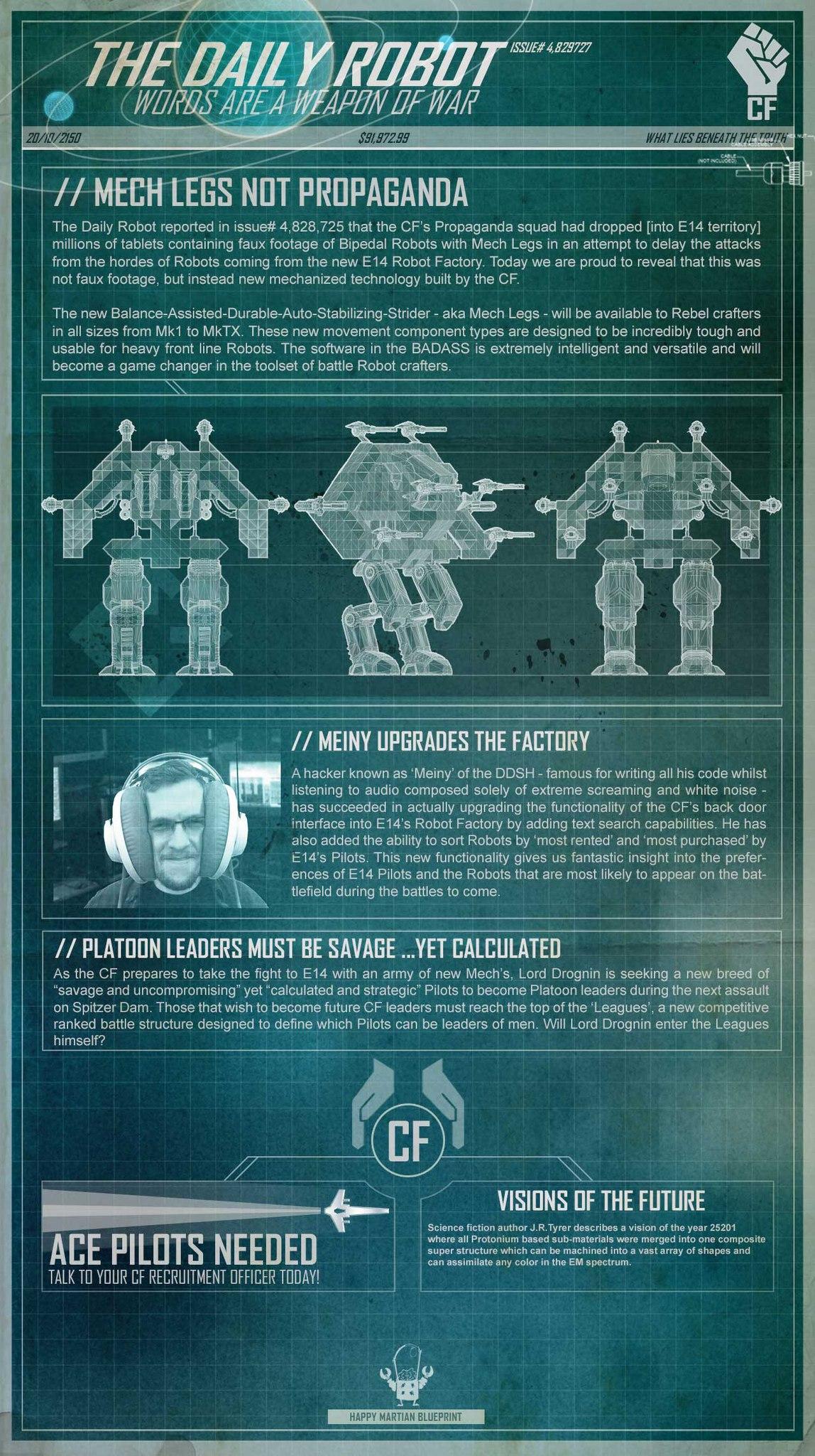 The daily robot - выпуск №5