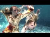 Underwater fashion show Harmagedon. Psalm 36_29 Jana Nedzvetskaya S_S 2015