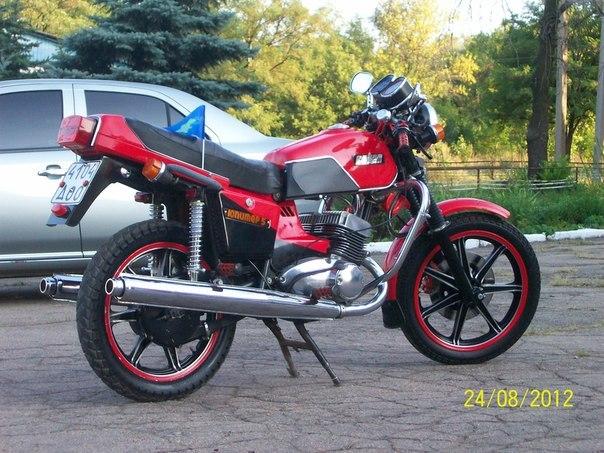 Тюнинг мотоцикла иж планета своими руками фото