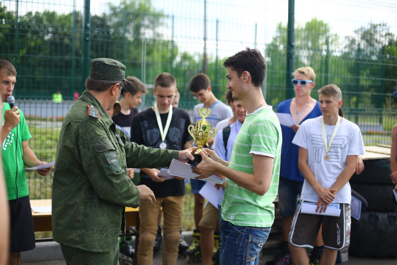 награждение участника турнира