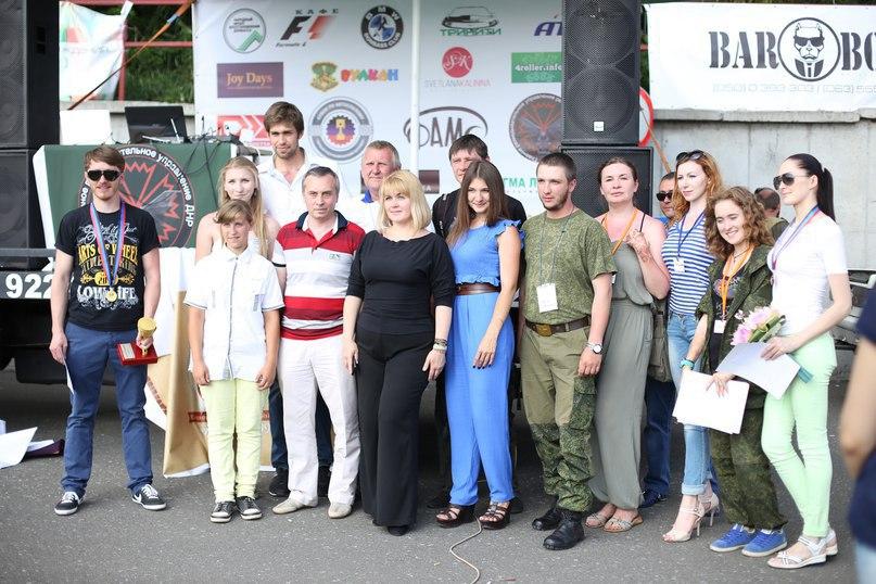 Организаторы АвтоФест, с Министром молодёжи и спорта ДНР