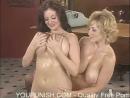 Классные телочки ласкаются (Danni Ashe and Lorna Morgan - Lesbian sex video)