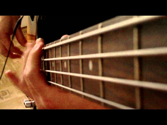 Muse - Hysteria (bass cover) DARKGLASS B3K
