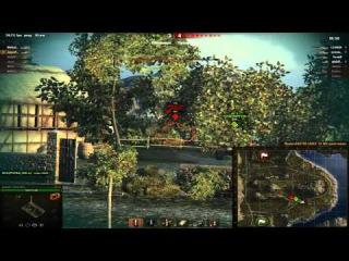 World Of Tanks Командный бой ИС 6-клан PANTERA