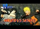 Naruto Shippuden: Ultimate Ninja Storm 3 - Sasuke vs Naruto Boss Battle(Hero version) [HD]