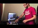 KRAZYRAF - Apache No Twerk Remix Live performance on MPC AKAI NOVATION ULTRANOVA