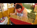 Stick Weaving an experimental archaeology project