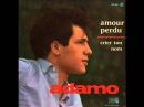 Adamo Amour perdu 1963