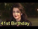 Aishwarya Rai Bachchan Celebrates Her 41st Birthday With Media