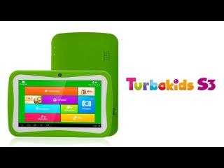 Обзор детского планшета TurboKids S3