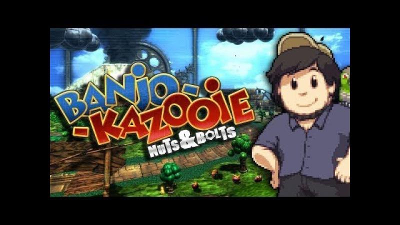 Banjo Kazooie: Nuts and Bolts [JonTron - Русская озвучка RVV]