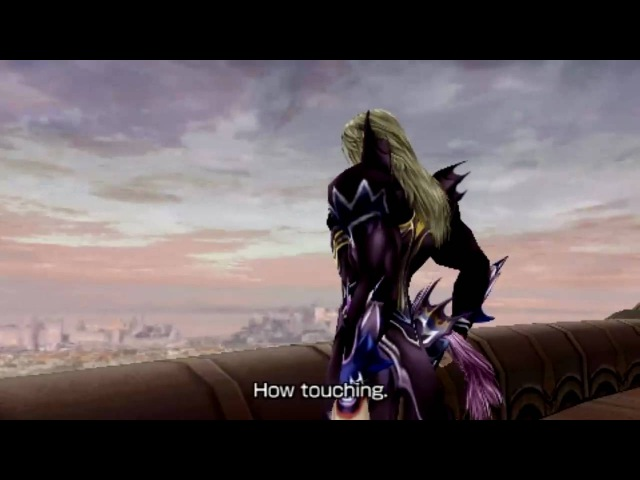 [HD]Dissidia 012 Duodecim Cutscene - Jecht talks with Kain