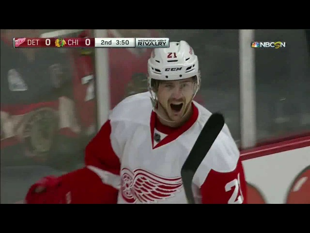 14/15 RS: Det @ Chi Highlights - 2/18/15