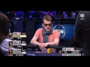 Rick Salomon and Vogelsang both flop trips (WSOP 2014)