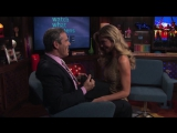 Sizzling Moment #2- Denise Richards Gives Andy a Lap Dance - WWHL