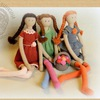 Авторские вязаные игрушки Иринки Корзинкиной
