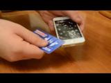 как правильно снимать защитное стекло на iphone