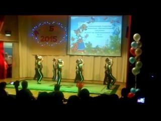 Аэробика 2015 детский сад № 21 Старый Оскол. Танец Майкл Джексон .