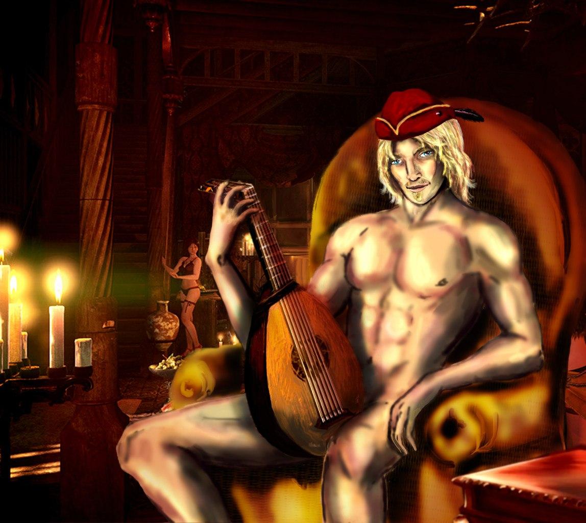 Упругое тело Цири из Ведьмака