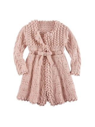 вязание воротника для женского пальто