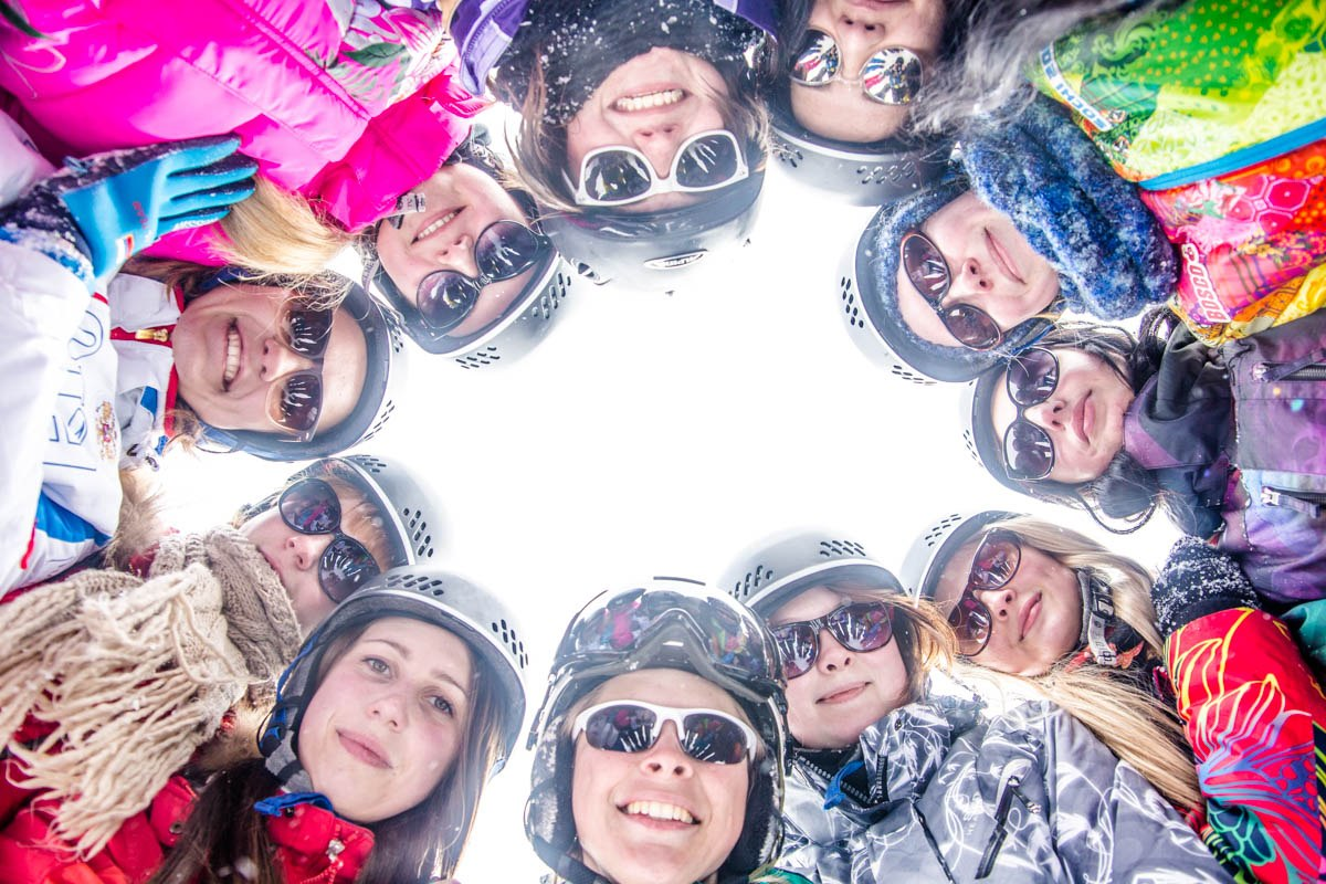 Studenten aus Russland in Tirol 2015