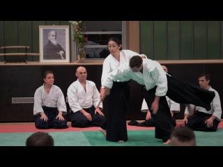Aikido: OKAMOTO Yoko Sensei Berlin 2015  Part 3