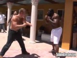 Kimbo Slice vs Adryan Street Fight