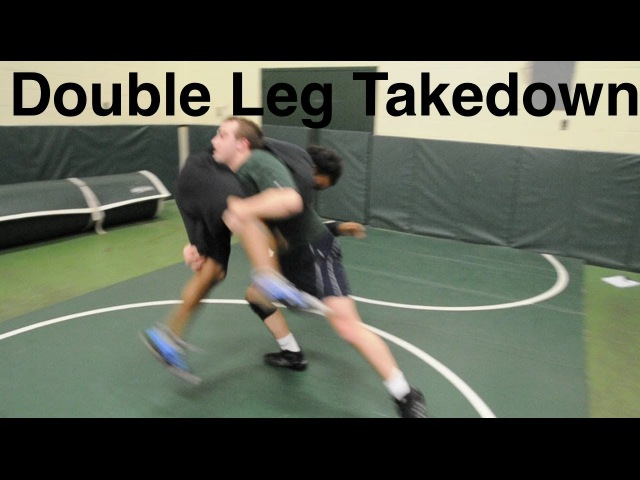 Double Leg Takedown: Basic Neutral Wrestling Moves and Technique For Beginners