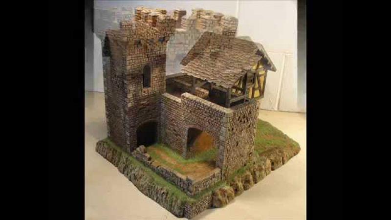 Borgo medievale in Polistirene