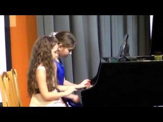 Отчетный концерт класса  Юрловой  М.Ф.