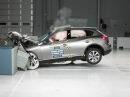 2008 Infiniti EX35 moderate overlap IIHS crash test
