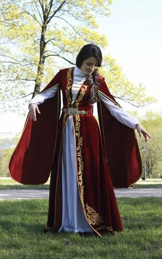 1000 Images About Chechen Girls On Pinterest Traditional Velvet And Clothing Styles