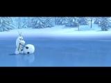 Снеговик и морковка! Ржачный мульт))) Смотреть обязательно!!!