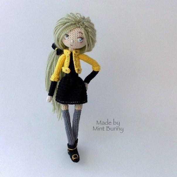 #кукла #схема #описание