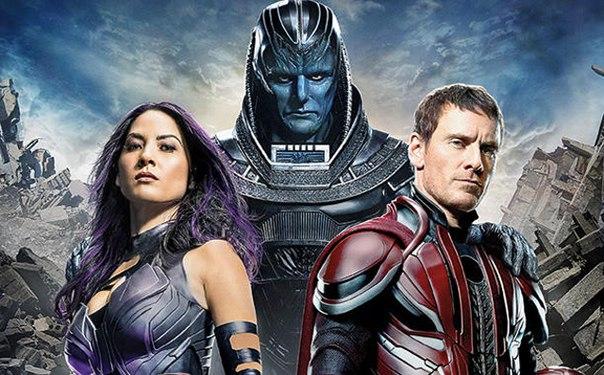 Портал Entertainment Weekly опубликовал первые официальные промо кадры грядущей картины Брайана Сингера «Люди Икс: Апокалипсис».