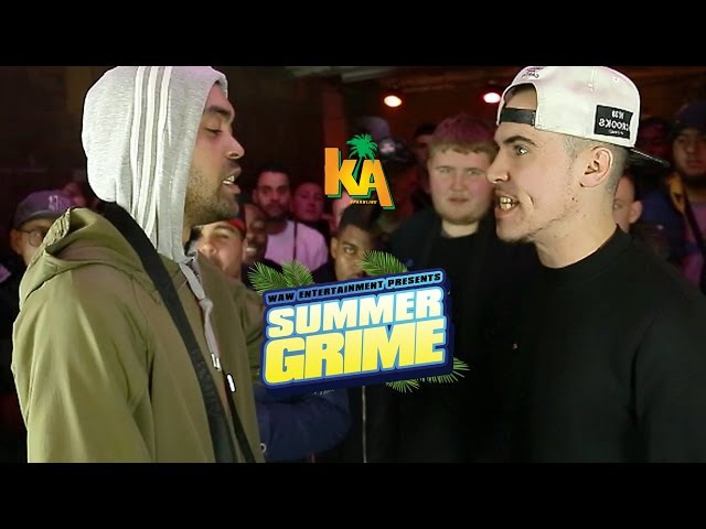 P SOLJA VS JAKUS | Grime Clash: WAW Summergrime